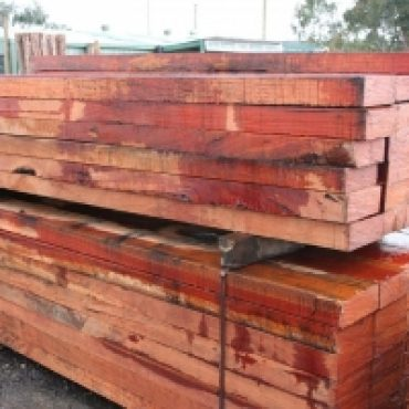 New Red Gum Sleepers