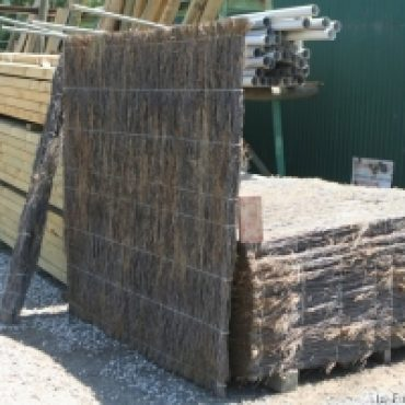 Brush Timber Fence Panels