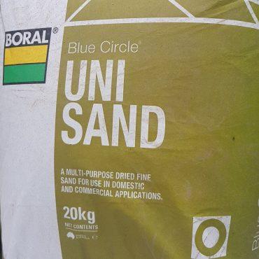 Dried Silica Sand