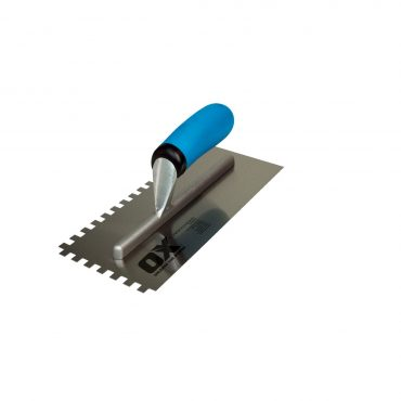 OX Professional 10X10 Notch Trowel OX-P013410