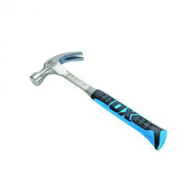 OX Professional 20OZ One Piece Steel Claw Hammer OX-P080120