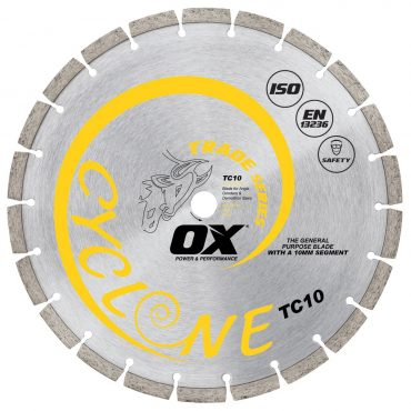 OX Trade 16in Diamond Blade – General Purpose Concrete OX-TC10-16