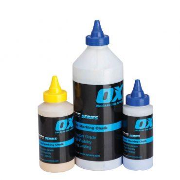 OX Trade White Line Marking Chalk – 8oz 225g – T025008