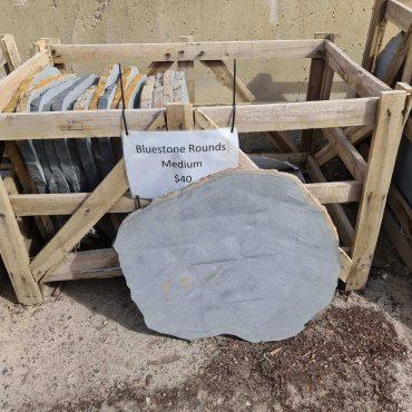 Bluestone Round Steppers Medium