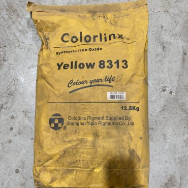 Iron Oxide Yellow – 12.5kg