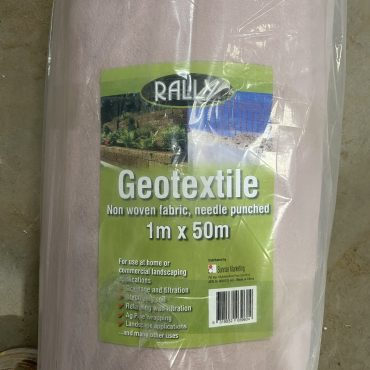 Geotextile Filter 1m x 50m Roll