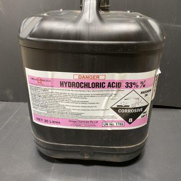 Hydrochloric Acid 20L