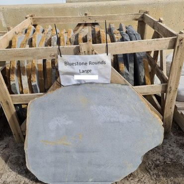 Bluestone Round Steppers Large