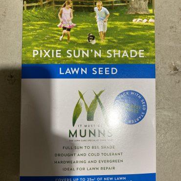 Munns Pixie Sun'n Shade Lawn Seed – 1kg