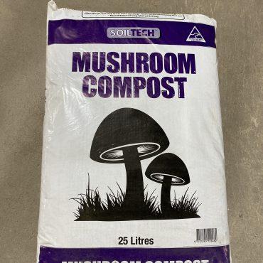 Soiltech Mushroom Compost – 25L
