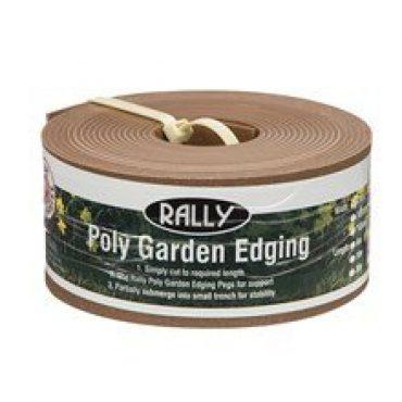 Poly Garden Edging – Terracotta 100mm x 6m