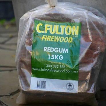 Split Redgum Firewood – 15kg Bags
