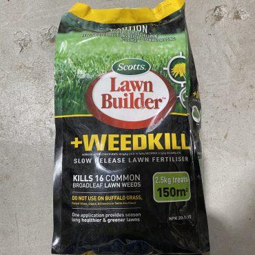 Scotts Lawn Build & Weed Killer – 2.5kg