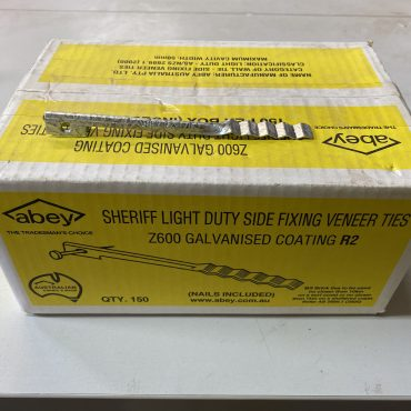 Side Fixing Veneer Ties – Light Duty