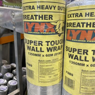 Sisalation Wall Wrap H/Duty 1350mm x 60m