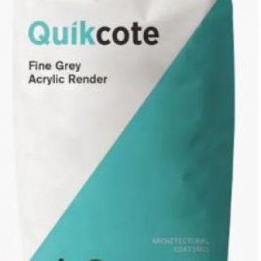 Quikcote – Fine Grey Acrylic Render