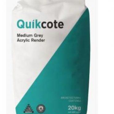 Quikcote – Medium Grey Acrylic Render